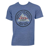 Camiseta Coors Light Born In The Rockies