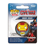 Captain America Civil War POP! Pins Chapa Iron Man