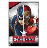 Captain America Civil War Manta Polar Captain America & Iron Man 100 x 150 cm
