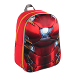 Captain America Civil War Mochila 3D Iron Man