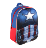 Captain America Civil War Mochila 3D Captain America