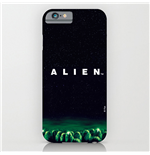 Alien Funda para iPhone 6 Plus Logo