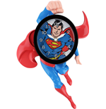 Superman Reloj de Pared 3D Motion Swinging Superman