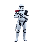 Star Wars Episode VII Figura Movie Masterpiece 1/6First Order Stormtrooper Officer 30 cm