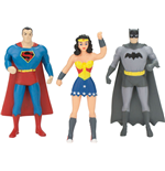 Justice League Pack de 3 Figuras Maleables 7 cm