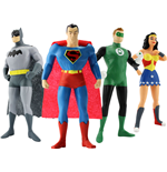 Justice League Pack de 4 Figuras Maleables 14 cm