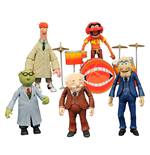 The Muppets Select Packs de 2 Figuras 13 cm Serie 2 Surtido (6)