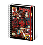 Marvel Comics Libreta A5 Deadpool