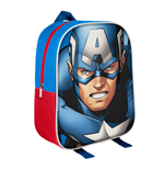 Marvel Comics Mochila 3D Captain America