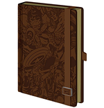 Libreta Marvel Superheroes