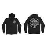 Sudadera con cierre de cremallera Against the Current Shape Symbol