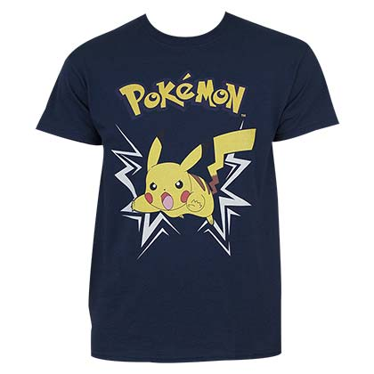 Camiseta Pokémon Pikachu Charging Up