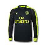 Camiseta de manga larga Arsenal 2016-2017 Third de niño