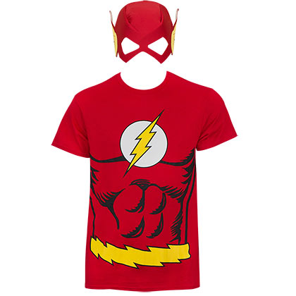 Camiseta Disfraz Flash