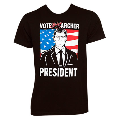 Camiseta Archer For President