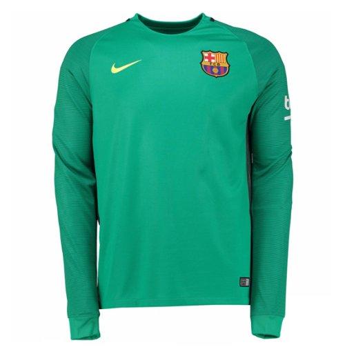 Compra Camiseta FC Barcelona 2016-2017 Away (Verde) Original a445ad24586