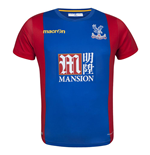 Camiseta Crystal Palace f.c. 2016-2017 Home