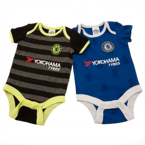 Pack 2 Body de bebé Chelsea