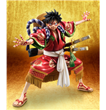 One Piece Estatua PVC Excellent Model P.O.P. Monkey D. Luffy Kabuki Edition 21 cm