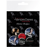 Pack Chapitas The Vampire Diaries - Stefan & Damon