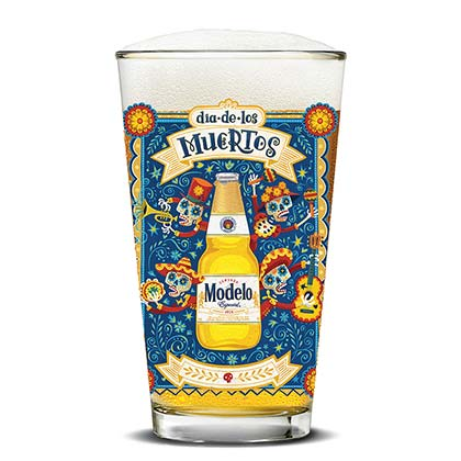 Vaso Modelo Especial Day Of The Dead