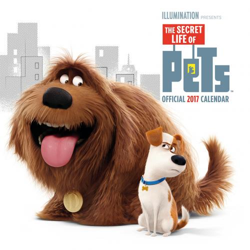 Calendario 2017 The Secret Life of Pets