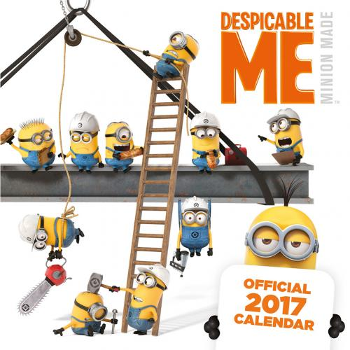 Calendario 2017 Gru mi villano favorito