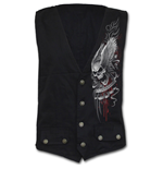 Chaqueta Spiral Ascension - Gothic Waistcoat Four Button with Lining