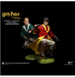 Harry Potter My Favourite Movie Pack de 2 Figuras Potter & Malfoy Quidditch Ver. 26 cm