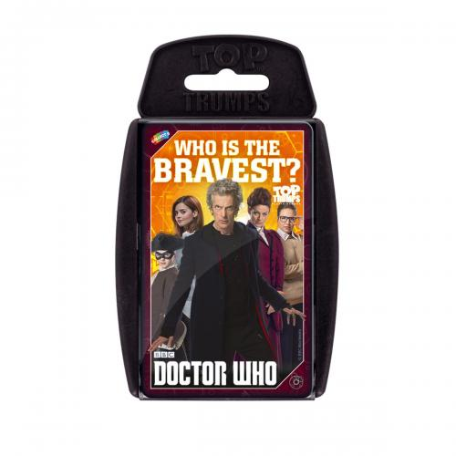 Juguete Doctor Who Top Trumps