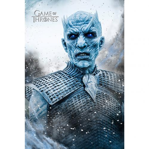 Póster Juego de Tronos (Game of Thrones) Night King 229