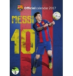 Calendario Barcelona F.C. Lionel Messi 2017