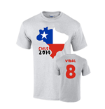 Camiseta Chile Fútbol