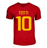 Camiseta AS Roma (Rojo) Totti Hero