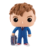 Doctor Who Figura POP! Television 10th Doctor With Hand 9 cm
