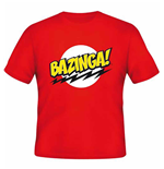 Camiseta Big Bang Theory  - Bazinga Red