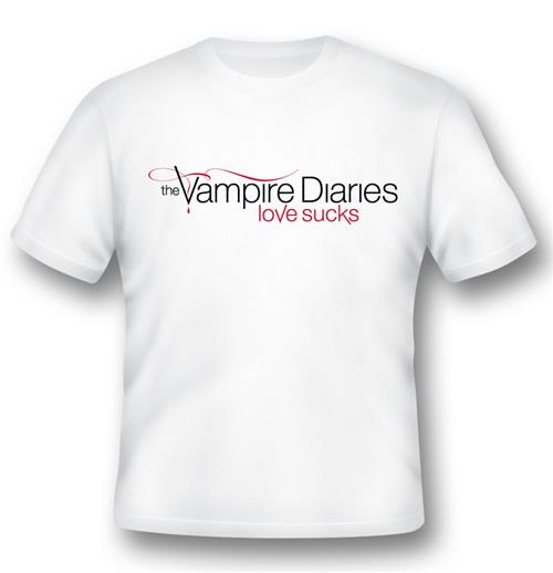 Camiseta The Vampire Diaries Love Sucks