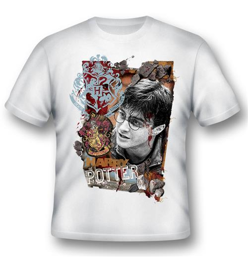 Camiseta Harry Potter Titillandus White