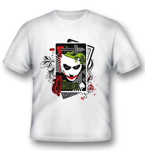 Camiseta Batman Joker Cards