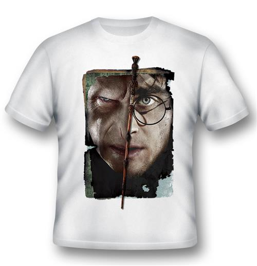 Camiseta Harry Potter Harry Vs Voldemort
