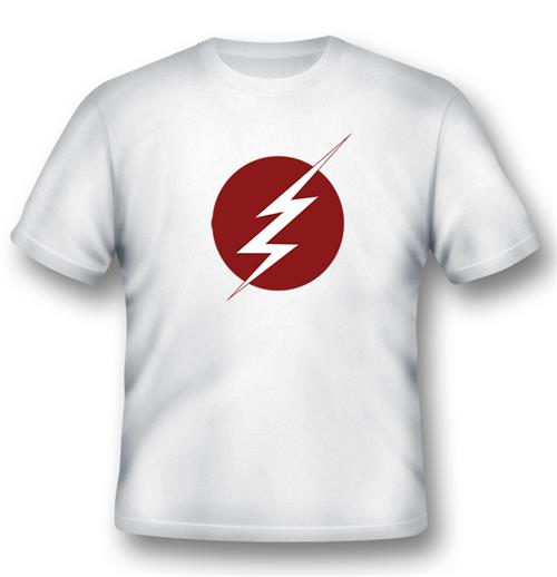 Camiseta Flash Lightning Logo