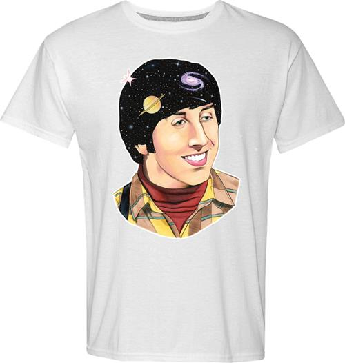 Camiseta Big Bang Theory Howard Art