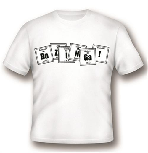 Camiseta Big Bang Theory Formula White