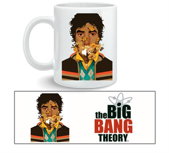 Taza Big Bang Theory Raj Nosound