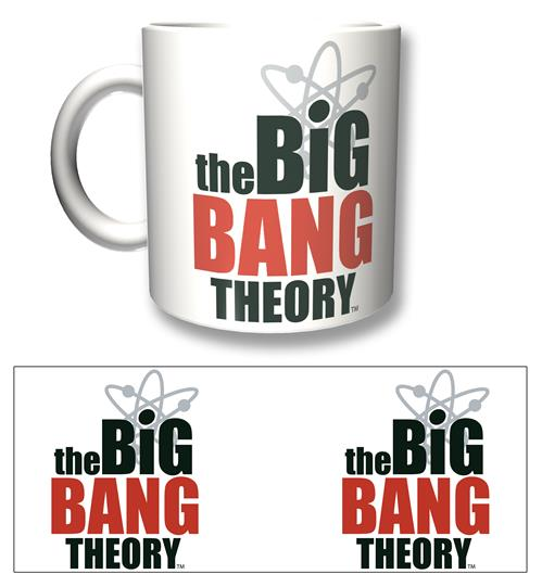 Taza Big Bang Theory Logo