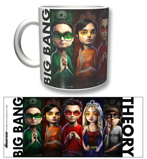 Taza Big Bang Theory Heroes