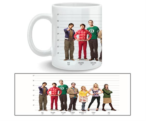 Taza Big Bang Theory Full Cast