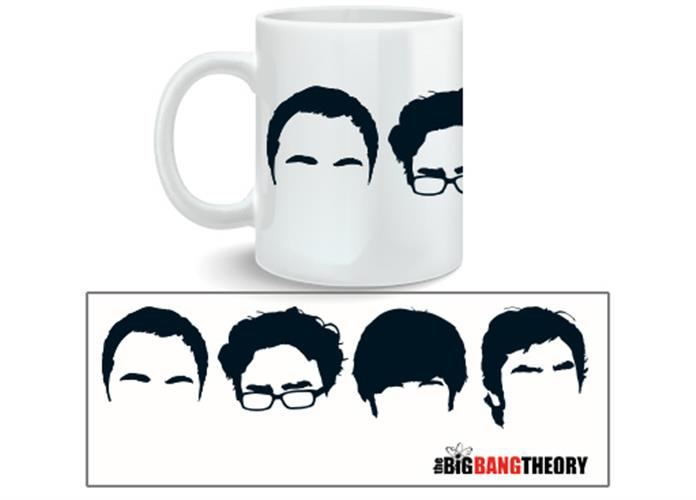 Taza Big Bang Theory Faces