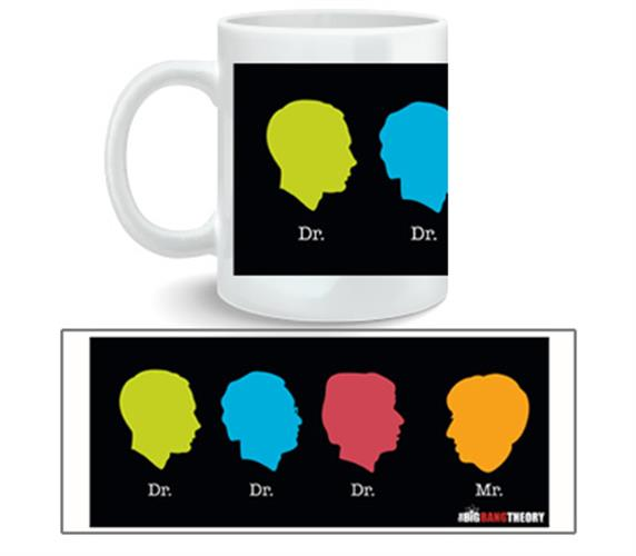 Taza Big Bang Theory Dr Dr Dr Mr