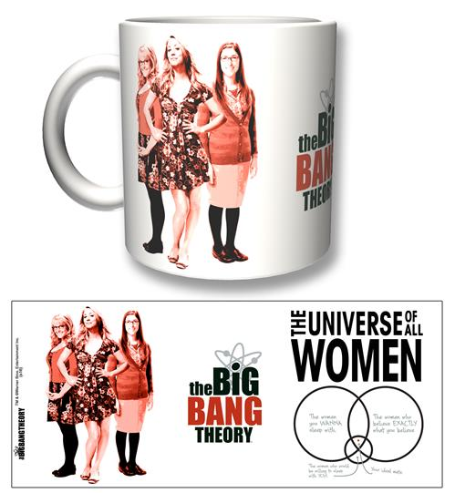 Taza Big Bang Theory All Women